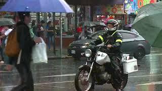 Este sábado tendrá lluvias intensas en el Pacífico costarricense