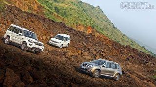 2015 Mahindra Scorpio vs Tata Safari Storme vs Nissan Terrano - Nissan Videos