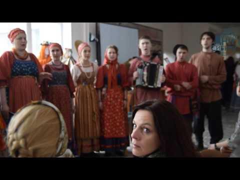 Творческая встреча с фольклорным ансамблем \Сибирочка\ Новосибирск