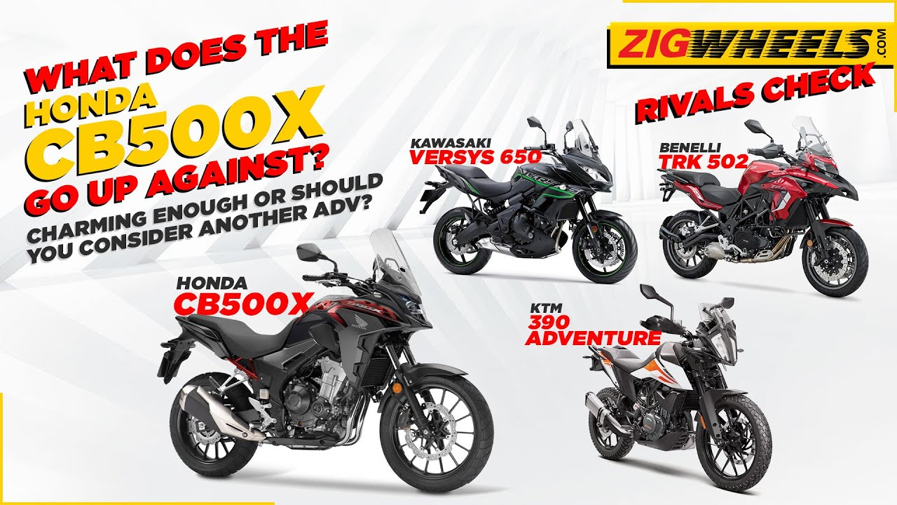 Honda CB500X Rivals Check: 390 Adventure, TRK 502 & Versys 650   Which ADV Should You Get?