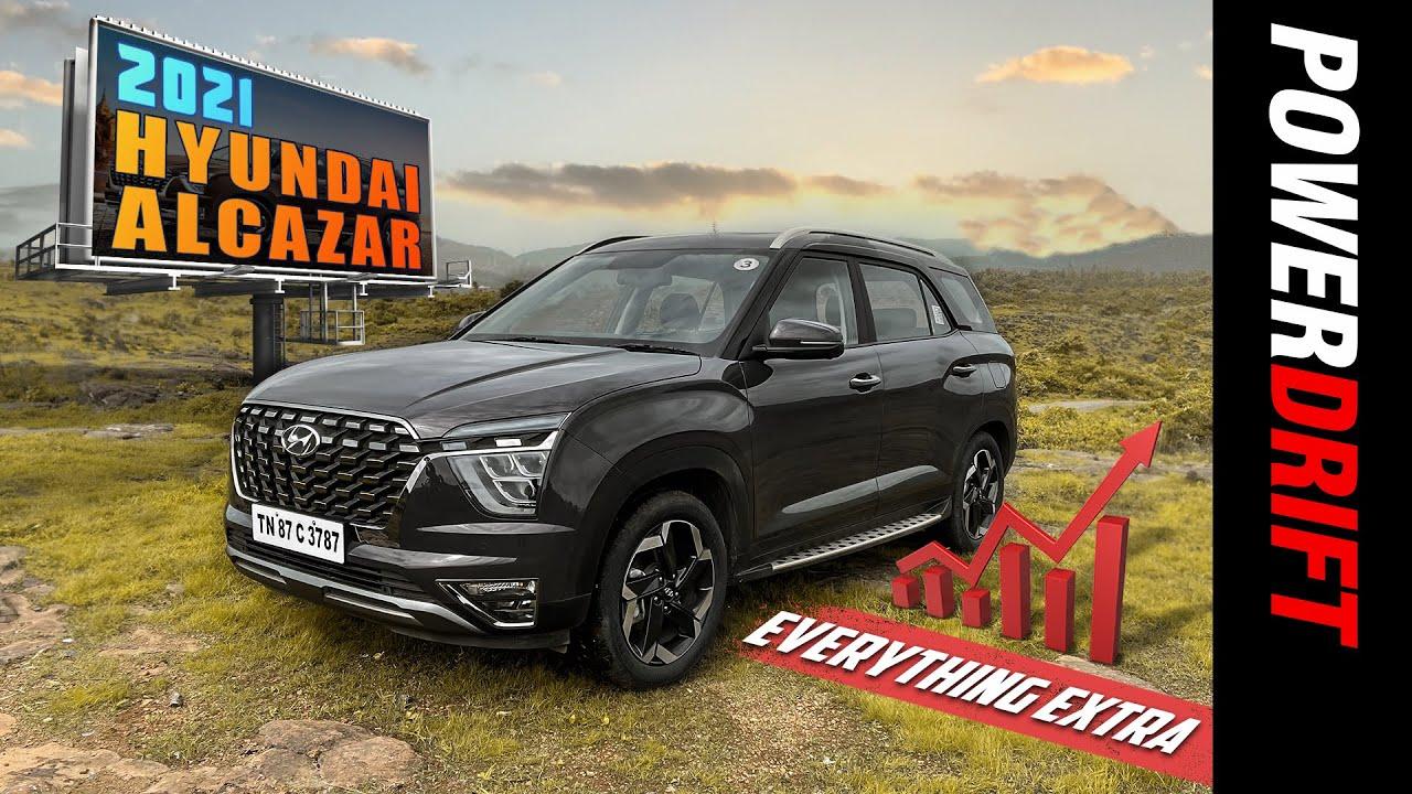 2021 Hyundai Alcazar | First Drive Review | Powerdrift