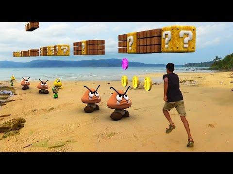 connectYoutube - Super Mario Run In Real Life