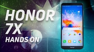 Honor 7X Hands On