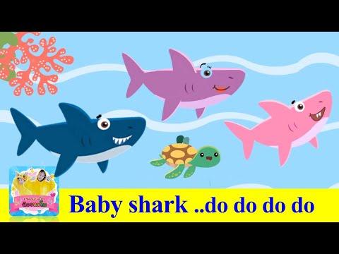 เด็กฉลามเต้นรำ- -Baby-Shark-- 