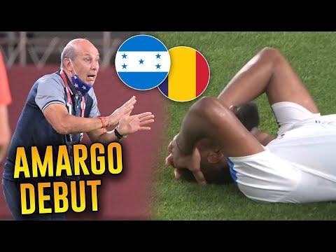 Honduras 0-1 Rumania | Nos ganaron sin 1 disparo al arco | Tokyo 2020