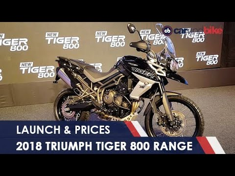 connectYoutube - 2018 Triumph Tiger 800 Launched In India - Prices, Features And More