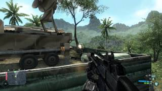 Crysis Walkthrough: Level 2 - Recovery [Part 1] HD 5870 Max (1080p)