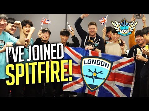 connectYoutube - Overwatch - Stylosa Joins The London Spitfire!!!