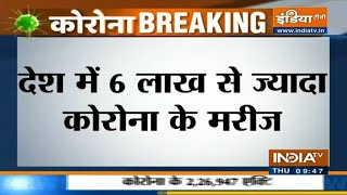 434 deaths, 19148 new cases in 24 hrs; India's covid tally stands at 6.04 lakhs - INDIATV