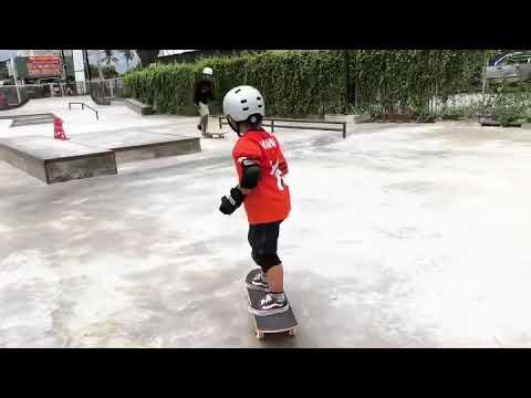 หัดเล่นสเก็ตบอร์ด-เด็กใหม่🏂Day