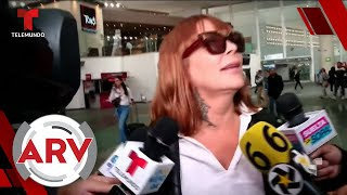Alejandra Guzmán pasó momento incómodo con la prensa y exige respeto   Al Rojo Vivo   Telemundo