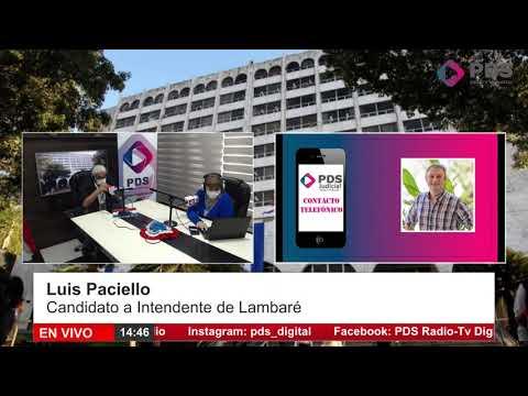Entrevista- Luis Paciello- Candidato a Intendente de Lambaré