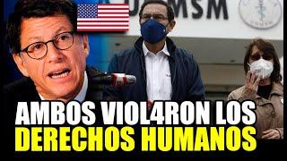 HUMAN RIGHTS WATCH DENUNCIA QUE EN PERÚ, VIZCARA Y MAZZETTI VI0L4R0N LOS DERECHOS HUMANOS