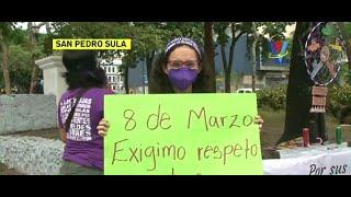 Organizaciones conmemoran el Día de la Mujer en SPS