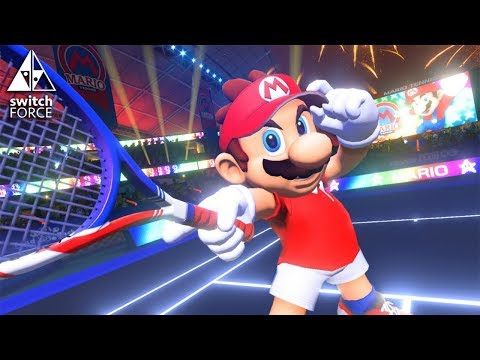 connectYoutube - Mario Tennis Aces Coming To Switch! - Nintendo Direct Gameplay