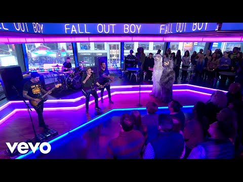connectYoutube - Fall Out Boy - Wilson (Expensive Mistakes) (Live On Good Morning America)