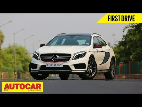 Mercedes-Benz GLA 45 AMG | First Drive Video Review