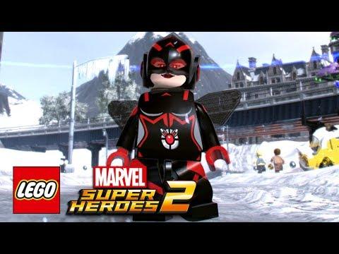 LEGO Marvel Super Heroes 2 - Wasp (Nadia Pym) Free Roam Gameplay Showcase