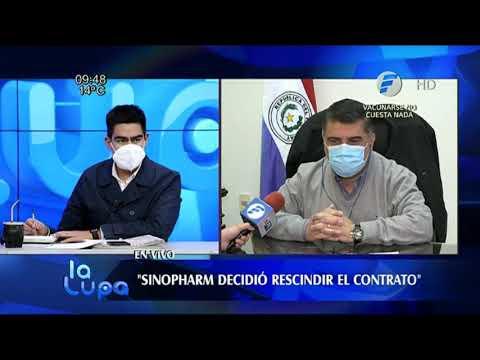 China rescindió contrato con Paraguay y no enviará vacunas de Sinopharm