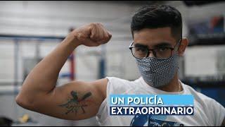 Un policía extraordinario | Pablo creyó en él y ganó un reto de lagartijas