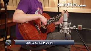 Santa Cruz 1929-00 Acoustic Guitar Demo
