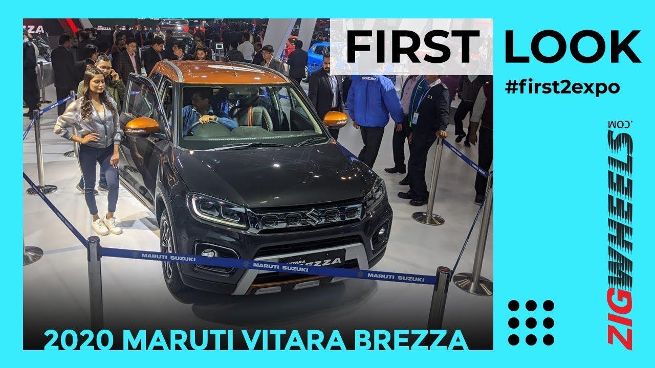 Maruti Suzuki Vitara Brezza Facelift First Look Review Auto Expo 2020