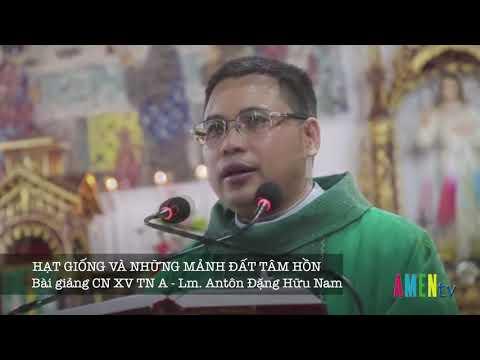 Bài giảng CN XV TN A - Lm. Anton Đặng Hữu Nam