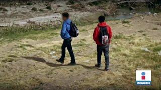 Hermanitos migrantes se enfrentan al bullying y a la migración forzada | Noticias con Yuriria Sierra