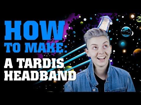 How To Make A TARDIS Headband - Doctor Who