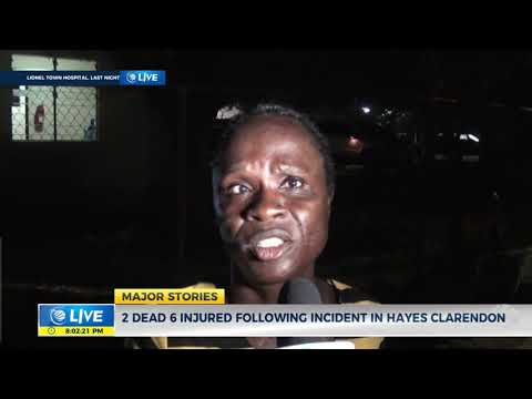 Two Dead Six Injured Following Incident In Hayes Clarendon | News | CVMTV