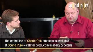 CharterOak m900t Tube Microphone on Electric Guitar