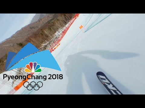 connectYoutube - Here's what it's like to ski an Olympic downhill course