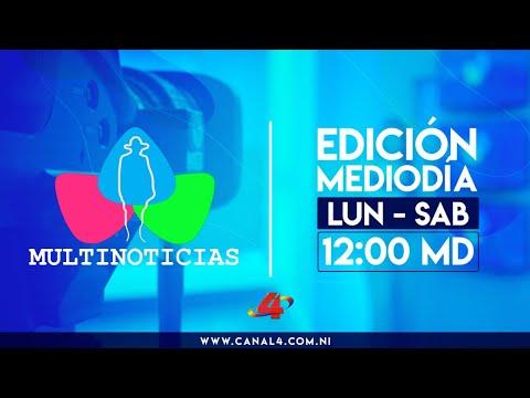 (EN VIVO) Noticias de Nicaragua - Multinoticias Mediodía, 11 de junio de 2021