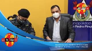 DIRECTOR DE PNC SE REUNIÓ CON AUTORIDADES DE JALAPA Y VISITO LOS AGENTES EN CUARENTENA