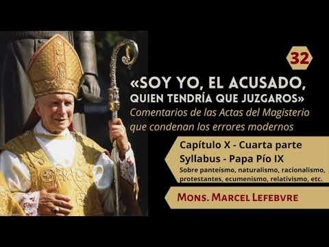 32 Capítulo X Syllabus   Cuarta parte   Pío IX   Mons  Marcel Lefebvre