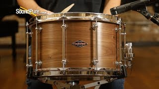 Craviotto 8x14 Walnut Custom Snare Drum—Quick 'N' Dirty