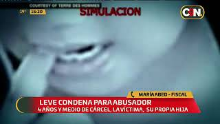 Repudio por leve condena a abusador