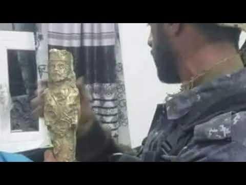 شاهد|اكتشاف كنز من الذهب الخالص بمحافظة يمنية وشجار بين اخوة عثروا عليه يضعه على عتبة المجهول (صور)
