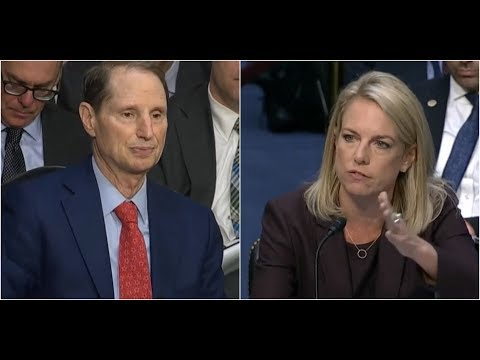 DHS Secretary Nielsen SCHOOLS Democrat Senator Wyden on why Paper Ballots are Necessary