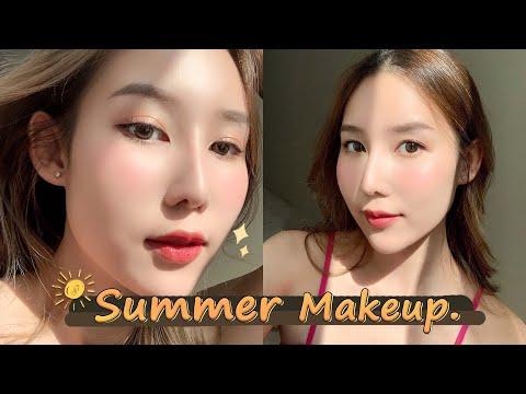 Summer-Makeup-แต่งหน้าผิวกระทบ