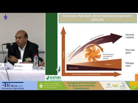 Dr. Srinivas Rao, Lead Specialist, Markets, Research and Innovation, ICRISAT
