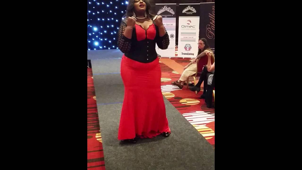 Miss Transgender uk finals 2016 Charlie d