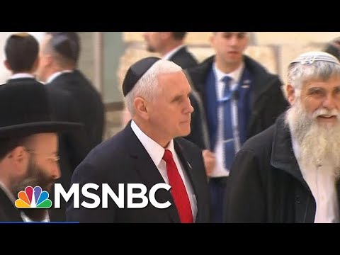 connectYoutube - VP Mike Pence: President Donald Trump Is Committed To Peace In Middle East   Andrea Mitchell   MSNBC
