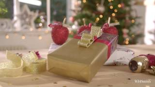 WHSmith Presents How to Accessorise your Gifts: Ruffled Ribbon with Jane Means