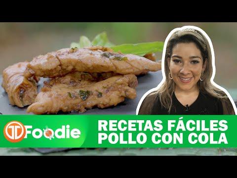 RECETAS FÁCILES | POLLO CON COLA