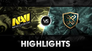 Highlights from Na'Vi vs xGame @ESL One NY Qualifier EU