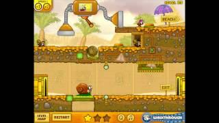 Snail Bob 3 Levels 21-25 Walkthrough