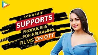 Sonakshi on SRK, Salman, Akshay & Sonu Sood's charity, Her debut in Web Series, Fake News on Corona - HUNGAMA