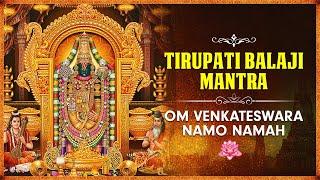 Om Venkateswara Namo Namah | Tirupati Balaji Mantra | तिरुपति बालाजी मंत्र - BHAKTISONGS