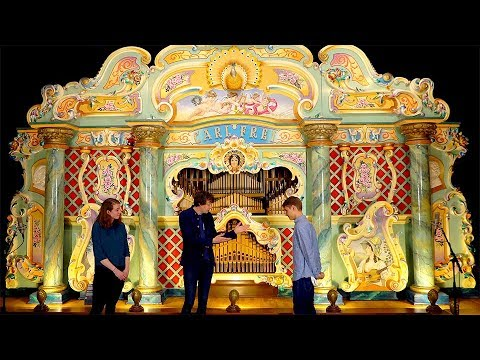Giant Fairground Organ plays The Marble Machine Song